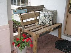 Bench ..from wood Pallet