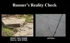 Runner's reality check