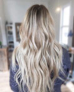 Blonde balayage - dimensional hair colour - hand painted for a natural ashy vanilla blonde...x
