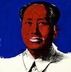 ANDY WARHOL - MAO #98 - KUNZT.GALLERY http://www.widewalls.ch/artwork/andy-warhol/mao-98/ #Print
