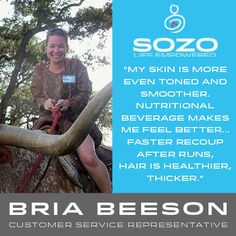 How does Customer Service Representative, Bria Beeson SOZO? For Bria, SoRadiant has become a necessity every morning and night after she washes her face. Incorporating the Nutritional Beverage has helped improve her #SOZOLife!  How do you like to SOZO? Share your stories below!