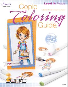 Cover for our 3rd book in the Copic Coloring Guide series.  Coloring People.