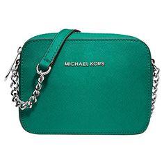 8be935a3a18d Buy MICHAEL Michael Kors Jet Set Travel Leather Across Body Bag Online at  johnlewis.com