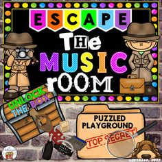Escape the Music Room (Puzzled Playground) - An Unlock the