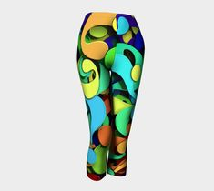 Questions Printed Capri for o Eco-friendly Yoga Leggings, Activewear, Eco Friendly, Capri, This Or That Questions, Printed, Fitness, Clothes, Beautiful