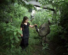 #Fotografía: El vínculo de una niña con los #animales silvestres