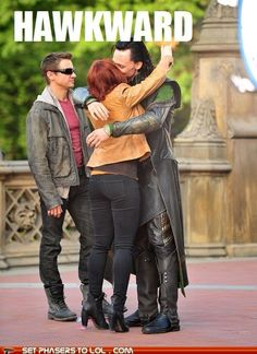 That awkward moment your girlfriend is kissing the villain