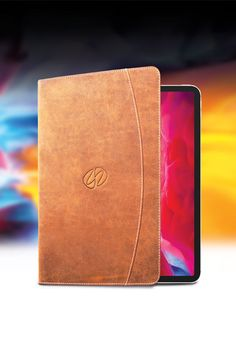 """Our beautiful, new 2020 Premium Leather iPad Pro 12.9"""" and 11"""" Folio cases are inbound. If you want one, now is the time to place an order. Best Ipad, Macbook Pro Case, Ipad Pro 12 9, Notebook, Cases, Leather, Beautiful, Design, Bebe"""