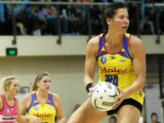 Katarina Cooper in action for the Central Pulse (Source: Supplied by Photosport) Netball, Action, Basketball, Group Action