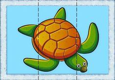 Autismus Arbeitsmaterial: Tier Puzzle