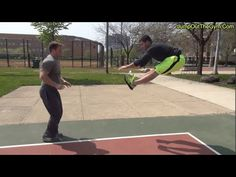 """How To """"Jump Higher"""" In 3 Minutes With 2 Exercises To Increase Your Vertical Jump - YouTube"""