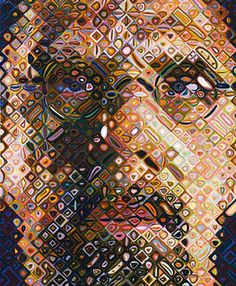 Bid now on Self-Portrait Woodcut by Chuck Close. View a wide Variety of artworks by Chuck Close, now available for sale on artnet Auctions. Chuck Close, Modern Art, Contemporary Art, Artsy Photos, Elements Of Art, Heart Art, Famous Artists, Art Lessons, Cool Art