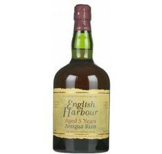 English Harbour Rum 5 Years  Tolle Geschenke mit Rum gibt es bei http://www.dona-glassy.de/Geschenke-mit-Rum:::22.html