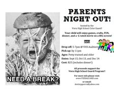 Parents Night Out Fundraiser!