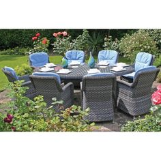 rattan garden dining set - Garden Furniture 2015 Uk