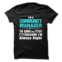Love being A COMMUNITY MANAGER T-Shirts, Hoodies. SHOPPING NOW ==► https://www.sunfrog.com/Geek-Tech/Love-being--COMMUNITY-MANAGER-57378627-Guys.html?id=41382