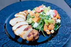Sommarsallad med jordgubbar och sötpotatis - 56kilo - en hållbar livsstil!