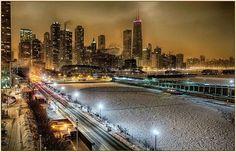 "Beautiful ""Frozen"" Chicago ~ February 2014"