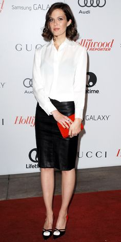 @Who What Wear - Mandy Moore Hits A Sartorial High Note In The Row . hair color