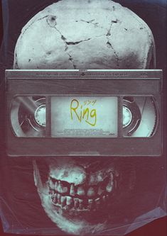 Ring (1998)   Alt poster art by Gokaiju The Ring 2002, The Ring Series, Doll Face, Macabre, Horror Movies, Creepy, Rings, Movie Posters, Collection