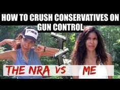 How to crush conservatives on gun control - YouTube