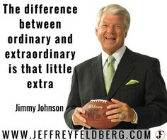 NFL broadcaster, player and coach Jimmy Williams reveals a success secret.  - Many times the difference between success and failure is that 'little extra'.    - Know this.  You go from ordinary to 'extra'ordinary when you go the extra mile.  - Raving fans created.  Empires built.  All from going the extra mile.  - Sounds great.  But do you know how?  - Let me do the heavy lifting for you.  -  Click http://jef.tips/EgOem   - You'll read my latest blog post where I reveal 5 tips to decimate…