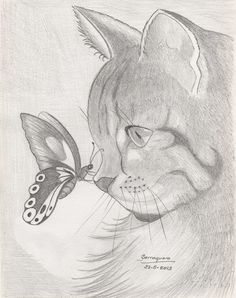dibujos a lapiz de animales tiernos - Buscar con Google