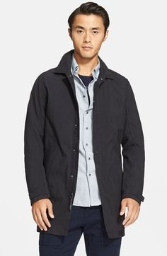 Wings + Horns - Water Resistant Cotton Blend Mac Coat