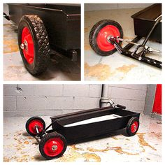 Custom Kids Wagon, Hot Rod Wagon, 1 Colour Choice. $300.00, via Etsy.