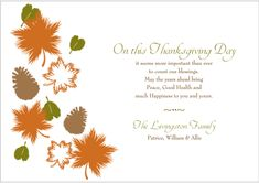Happy Thanksgiving Cards and Free Thanksgiving eCards Greetings 2014