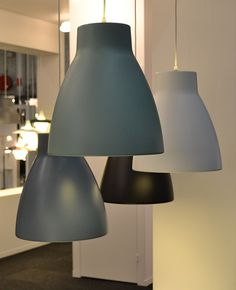 Gong lamps by Belid - Stockholm Furniture fair 2014