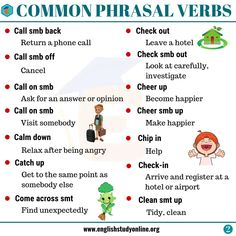 List of Powerful Phrasal Verbs in English! In this lesson, we will learn about the most common phrasal verbs (phrasal verbs with get, phrasal verbs with make.) in English, with meanings and example sentences. English Verbs, English Vocabulary, English Grammar, English Language, English Study, English Class, English Lessons, Learning English, Learn English For Free