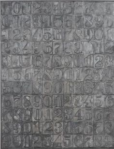 Jasper Johns – The History of Text-based Art Tachisme, Cultura Pop, Pop Art, Neo Dada, John Gray, Robert Rauschenberg, Philadelphia Museum Of Art, Black White Art, Art Moderne