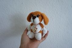 Little puppy crochet pattern