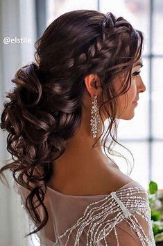 Killer Swept-Back Wedding Hairstyles  See more:   #weddings #hairstyles