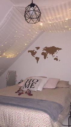 Dream Rooms, Dream Bedroom, Girls Bedroom, Bedroom Decor, Bedrooms, My New Room, My Room, Girl Room, Tumblr Bedroom