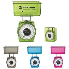 Dieting? Is your business geared to weight lose or any health and fitness? Here's an Blog article on health and fitness promotional items. The scale is only $2.49/each. Advertising Ideas   Marketing Ideas   Customized Promotional Products: Advertising Ideas in the Kitchen