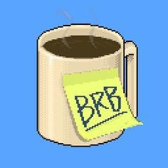 New trendy GIF/ Giphy. coffee brb coffee break. Let like/ repin/ follow @cutephonecases