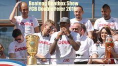 FC Bayern München Double Feier 2016 - Thomas Müller präsentiert Jérôme B...