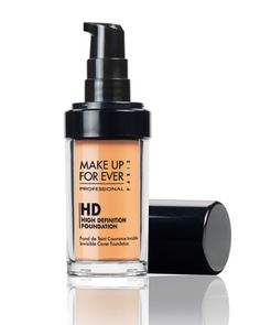 Make up Forever HD liquid foundation. Amazing coverage, light and flawless feeling.