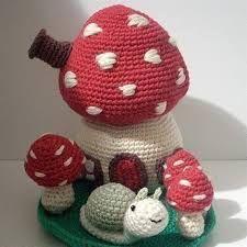 mushroom crochet pattern - Google Search