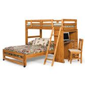 Found it at Wayfair - Twin over Full Customizable Bedroom Set