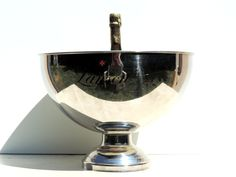 French Vintage Champagne Bucket/ Vintage Lanson Champagne Ice Bucket/French Vintage Lanson Champagne Bucket/ Vintage Ice Bucket by SouvenirsdeVoyages on Etsy