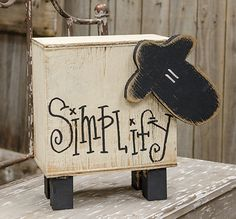 KP Creek Gifts - *Hanging Chubby Welcome Sheep 2x4 Crafts, Wood Block Crafts, Sheep Crafts, Wooden Projects, Wooden Crafts, Wood Blocks, Crafts To Make, Primitive Sheep, Primitive Wood Crafts