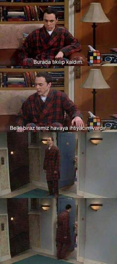 Dizi replikleri - Big Bang Theory