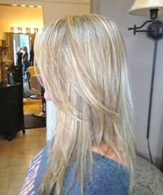 blonde white highlights - Google Search