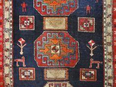 Antique Christian Armenian Exquisite C 1920 Persian Caucasian Rug S