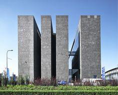 Digital Beijing, Beijing.    Designed by Studio Pei-Zhu, Urbanus Architecture & Design.