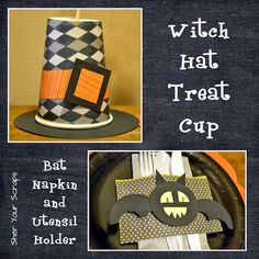 Sher Your Scraps: Halloween Paper Play