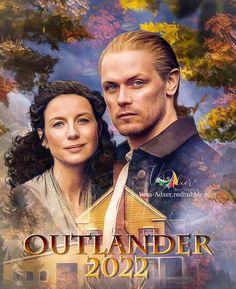 Samheughan, Jamie And Claire, Caitriona Balfe, Outlander Series, Beautiful Artwork, Love Art, Seasons, Digital Art, Creative